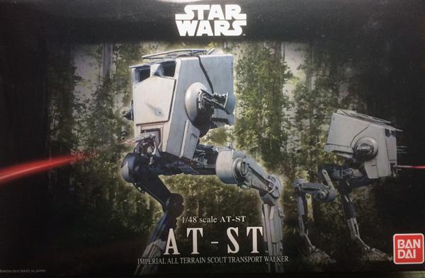 1 BN-SF- AT-ST Walker, Star Wars, Bandai 1.48