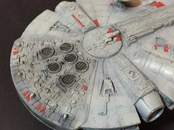 18 AC-Millenium Falcon-Star Wars-Revell- 1.241