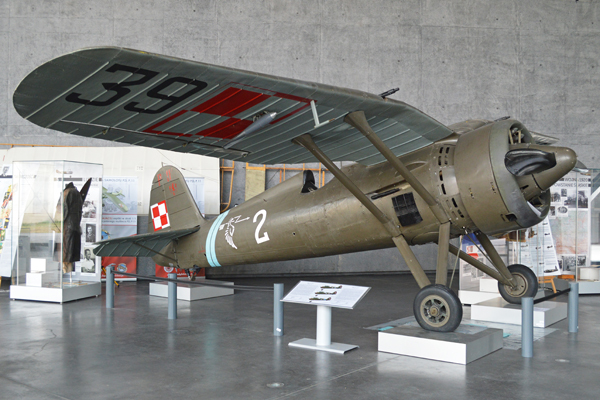 P.11 as on display in the Polish Aviation Museum