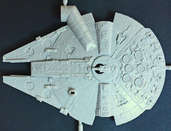 3 AC-Millenium Falcon-Star Wars-Revell- 1.241