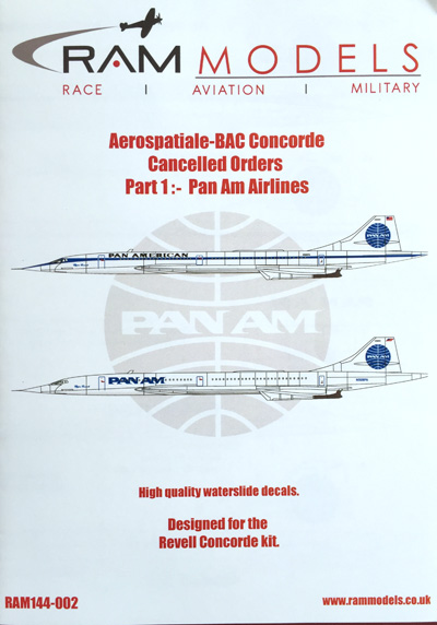 1 HN-Ac-RAM Models-Aerospatiale-BAC Concorde Cancelled Orders Part 1 1.144