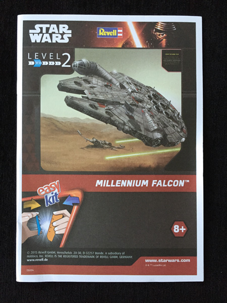 Millennium Falcon Star Wars Revell 1:72 - Scale Modelling Now
