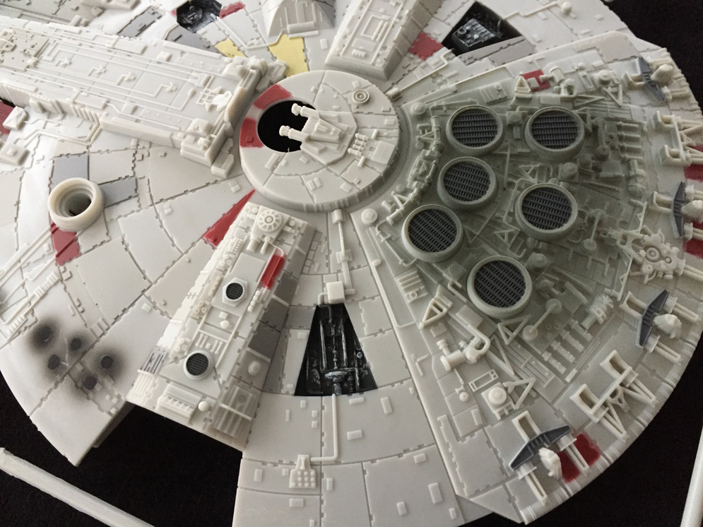 millennium falcon star wars revell 1 72 scale modelling now. Black Bedroom Furniture Sets. Home Design Ideas