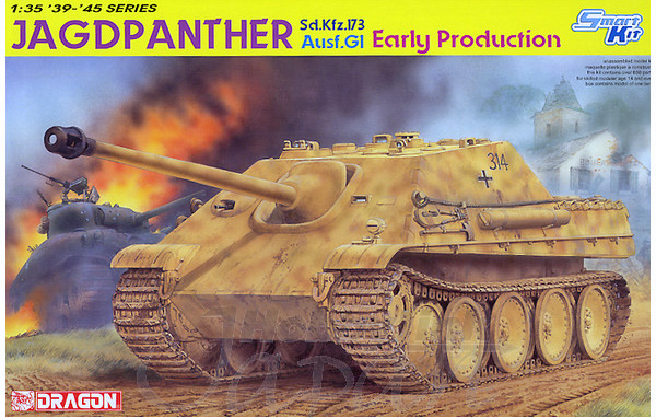 1 BN-Ar-Dragon-Jagdpanther ausf G early production, 1.35