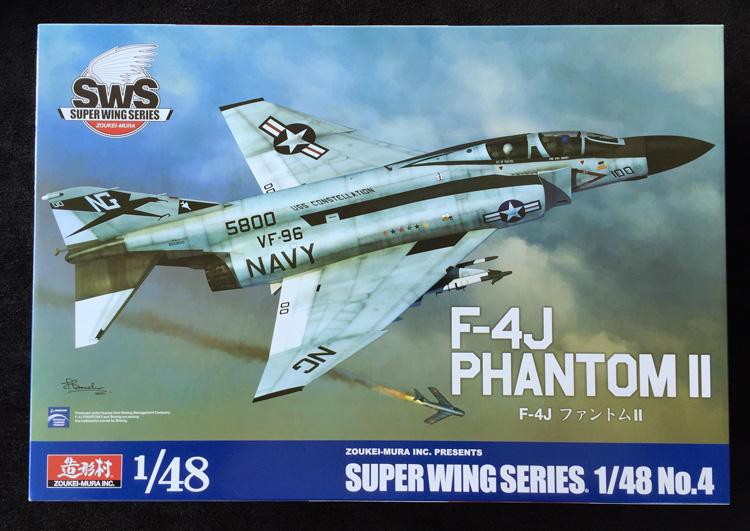 1. HN-Ac-Kits-Zoukei Mura-F-4J Phantom II, 1.48