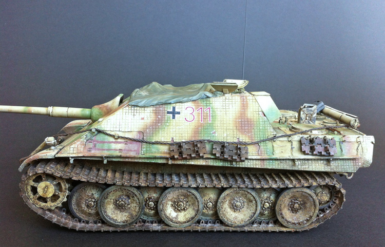 3 BN-Ar-Dragon-Jagdpanther ausf G early production, 1.35