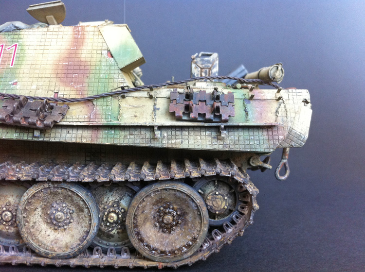 4 BN-Ar-Dragon-Jagdpanther ausf G early production, 1.35