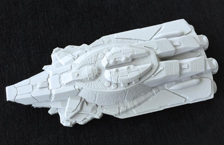 Terran Warship Kydoimos TTF-200869 1:400 - Scale Modelling Now