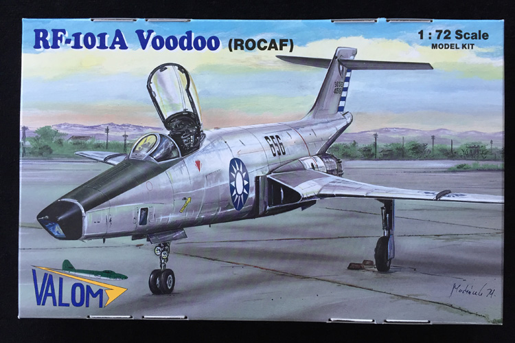 Valom RF-101A Voodoo RoCAF 1:72 - Scale Modelling Now
