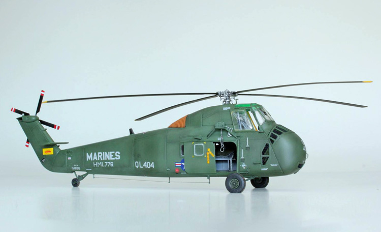 Revell Sikorsky UH-34D Seahorse 1:48 - build review - Scale