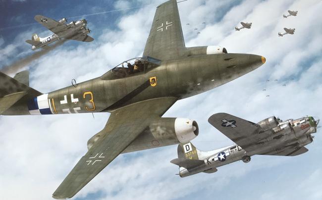 Airfix Messerschmitt Me262a