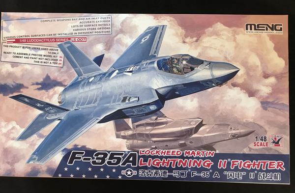 Meng Lockheed Martin F-35A Lightning II 1:48 - Scale
