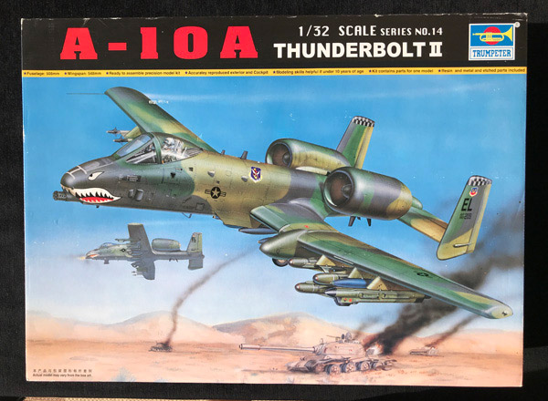 Trumpeter Fairchild Republic A 10a Thunderbolt Ii 1 32 Build Review Scale Modelling Now