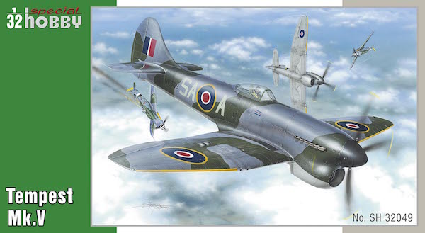 Eduard 1/48 Hawker Tempest Mk.V series 2 Review by John Miller | 329x600