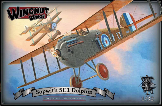 Wingnut Wings Sopwith 5F 1 Dolphin 1:32 - Scale Modelling Now