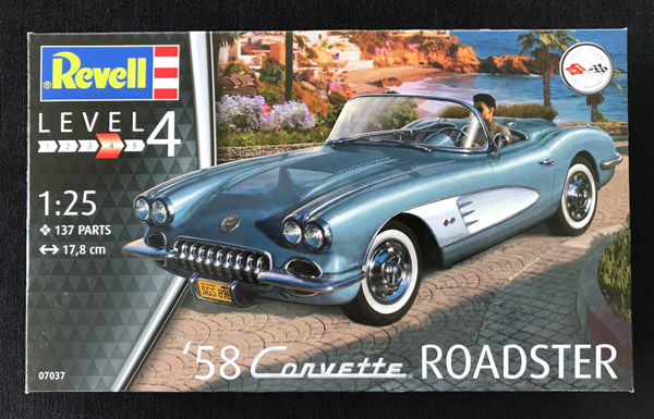 Revell '58 Corvette Roadster 1:25 - Scale Modelling Now