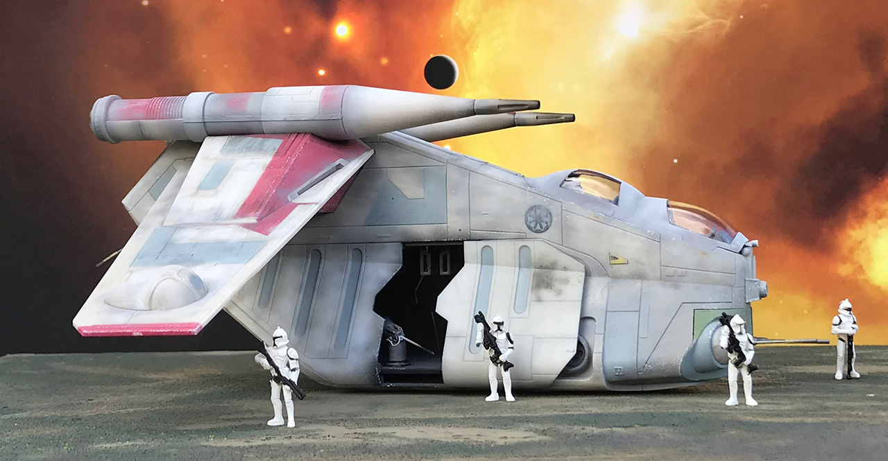 Republic Gunship Star Wars