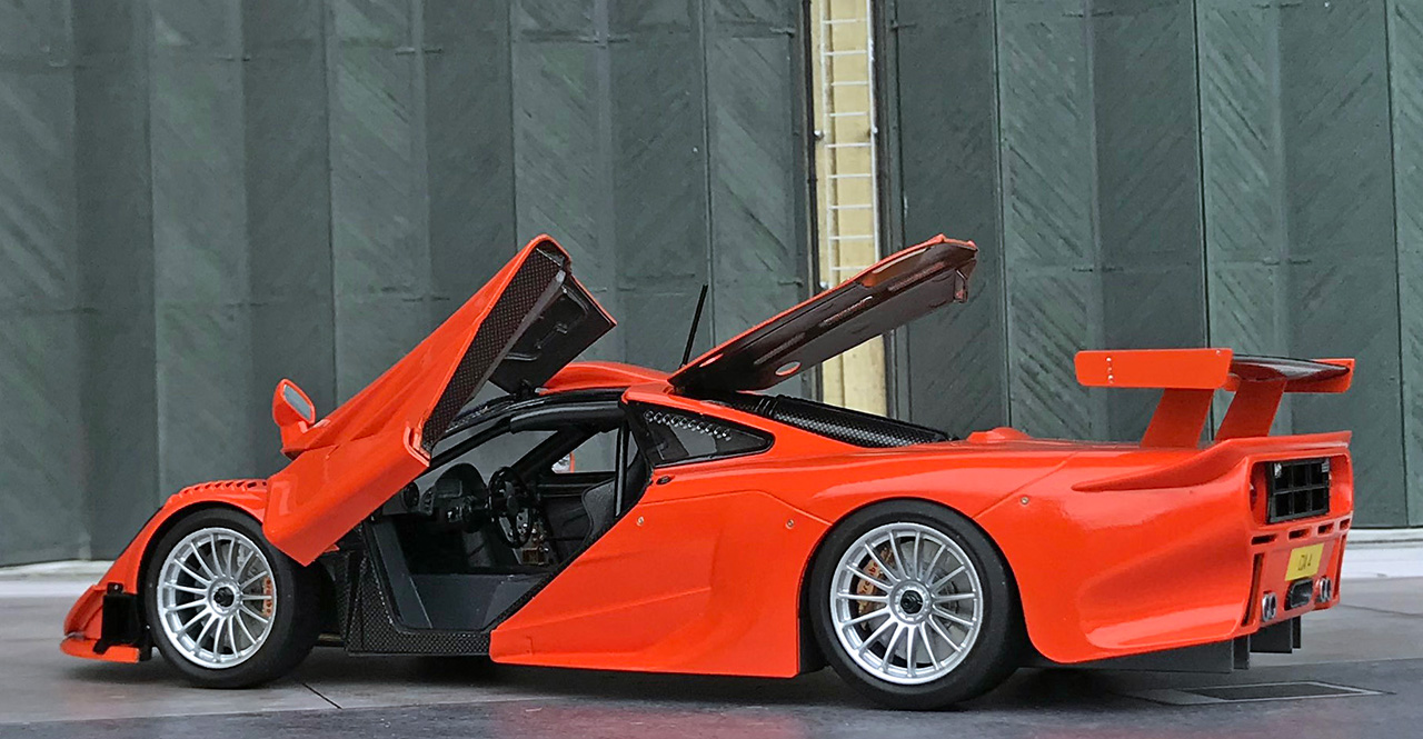 Aoshima McLaren F1 GTR 1997