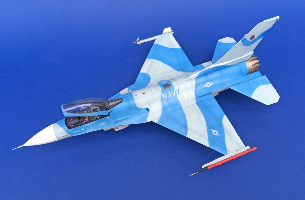 Tamiya F-16C/N Aggressor/Adversary 1:48