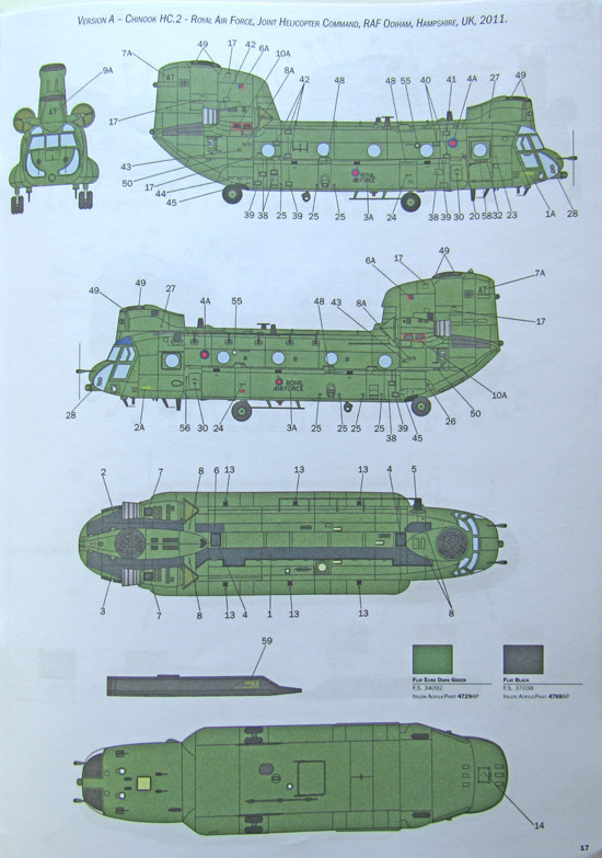 Italeri Chinook HC Mk 2 / CH-47F 1:48 - Page 4 of 4 - Scale