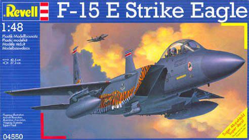 Revell F-15E Strike Eagle 1:48