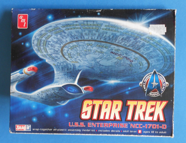 U.S.S. Enterprise NCC 1701D Star Trek AMT