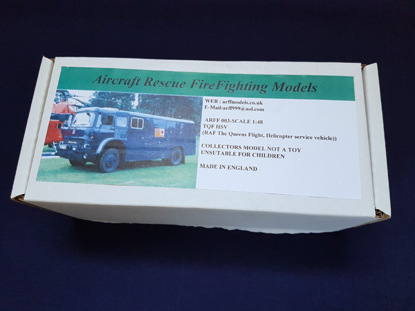 TQF HSV Queens Flight Support Vehicle 1:48