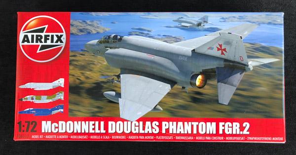 Scale 1:72 Airfix A06017 McDonnell Douglas FGR2 Phantom