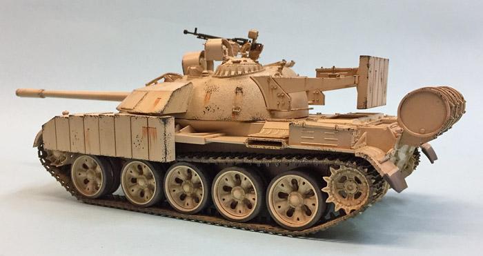 Tamiya Iraqi Tank T-55 Enigma 1:35