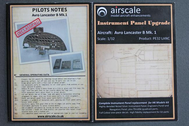 HK Models Avro Lancaster B Mk 1 1:32 - build review - Scale