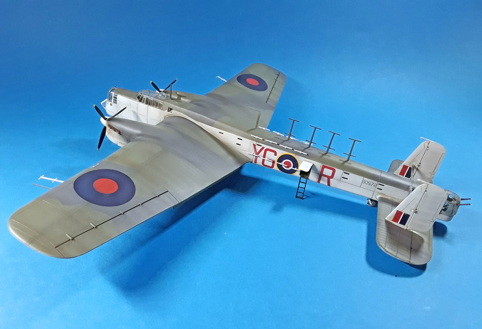 Armstrong Whitworth Whitley GR.Mk.VII 1:72