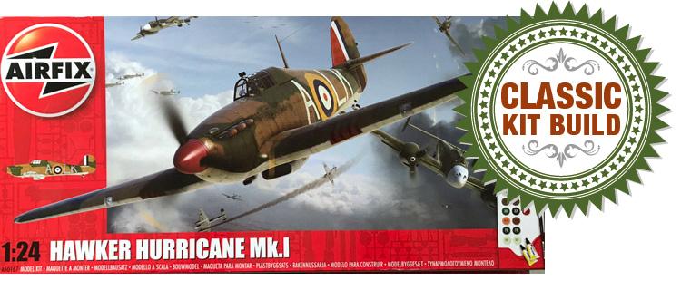 Airfix Hawker Hurricane Mk.I 1:24