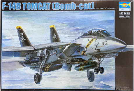 Trumpeter F-14B Tomcat (Bomb-Cat) 1:32