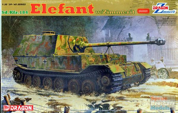Dragon/DML Sd.Kfz.184 Elefant 1:35