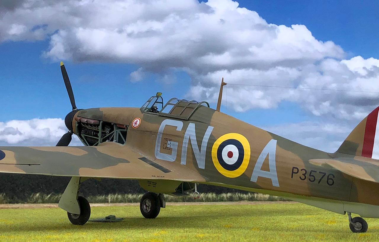 Airfix Hawker Hurricane Mk.I, 1.24