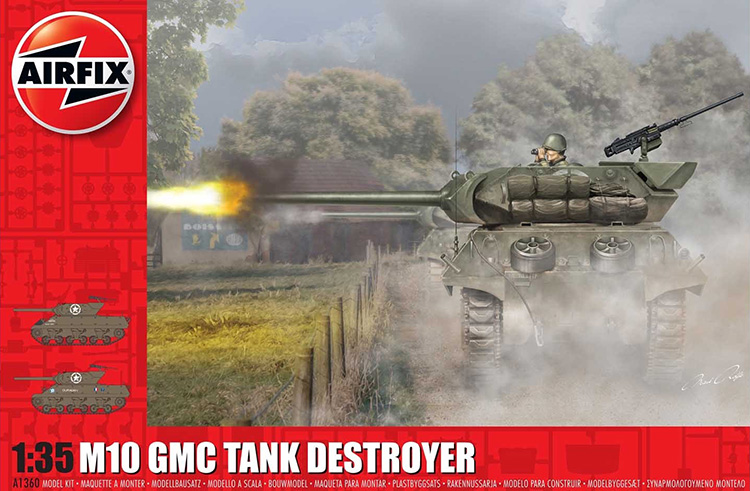 Airfix GMC M10 Tank Destroyer 1:35