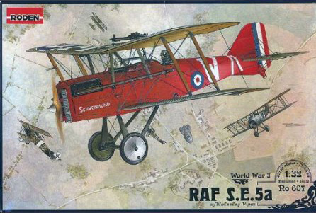 Roden Royal Aircraft Factory S.E.5a 1:32