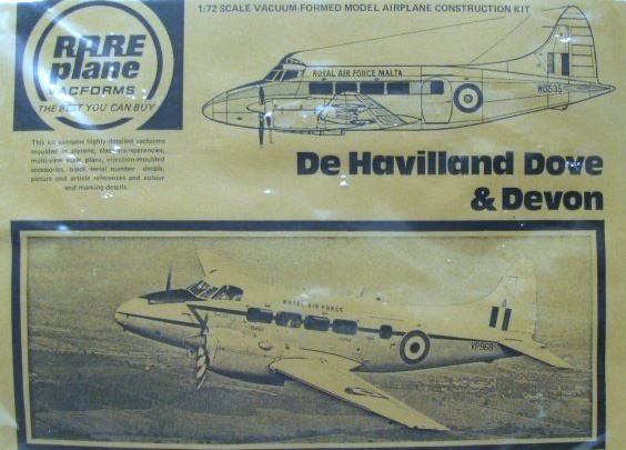Rareplane D.H. Sea Devon 1:72
