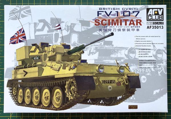 AFV Club British CVR [T] FV107 Scimitar 1:35