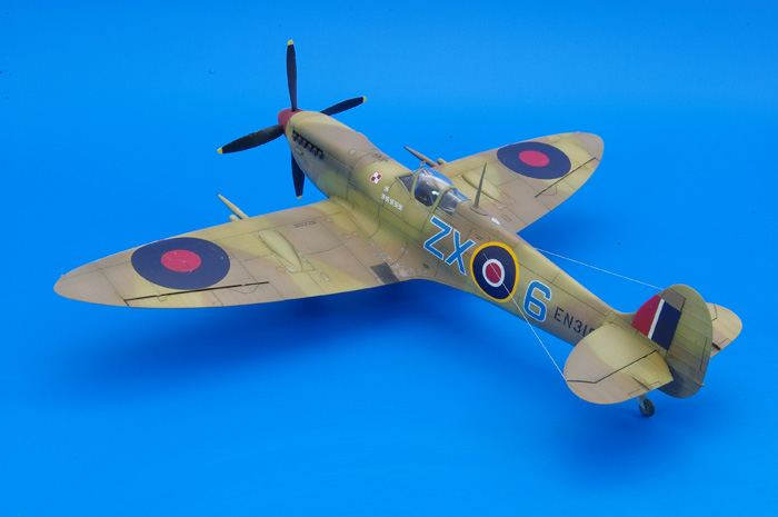 eduard Spitfire Mk.IXc early version 1:48