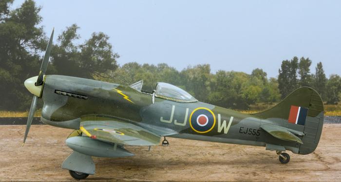 eduard Hawker Tempest Mk.V Series 2 1:48