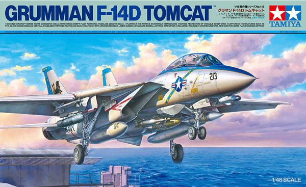 Tamiya Grumman F-14D Tomcat - Double Build 1:48