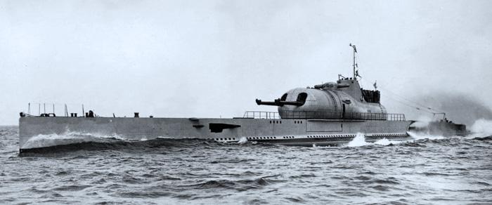Hobbyboss 1:350 Surcouf French Submarine Model Kit