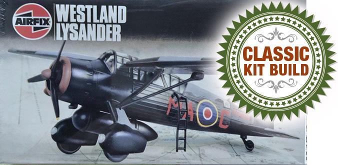 Airfix Westland Lysander Mk.III.SD 1:72