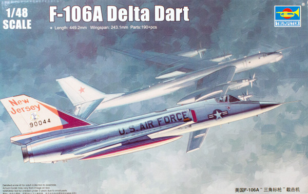 Trumpeter F-106A Delta Dart 1:48