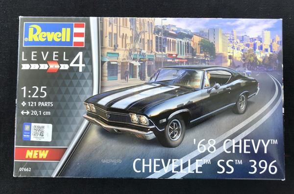 Revell '68 Chevy Chevelle SS 396 1:25
