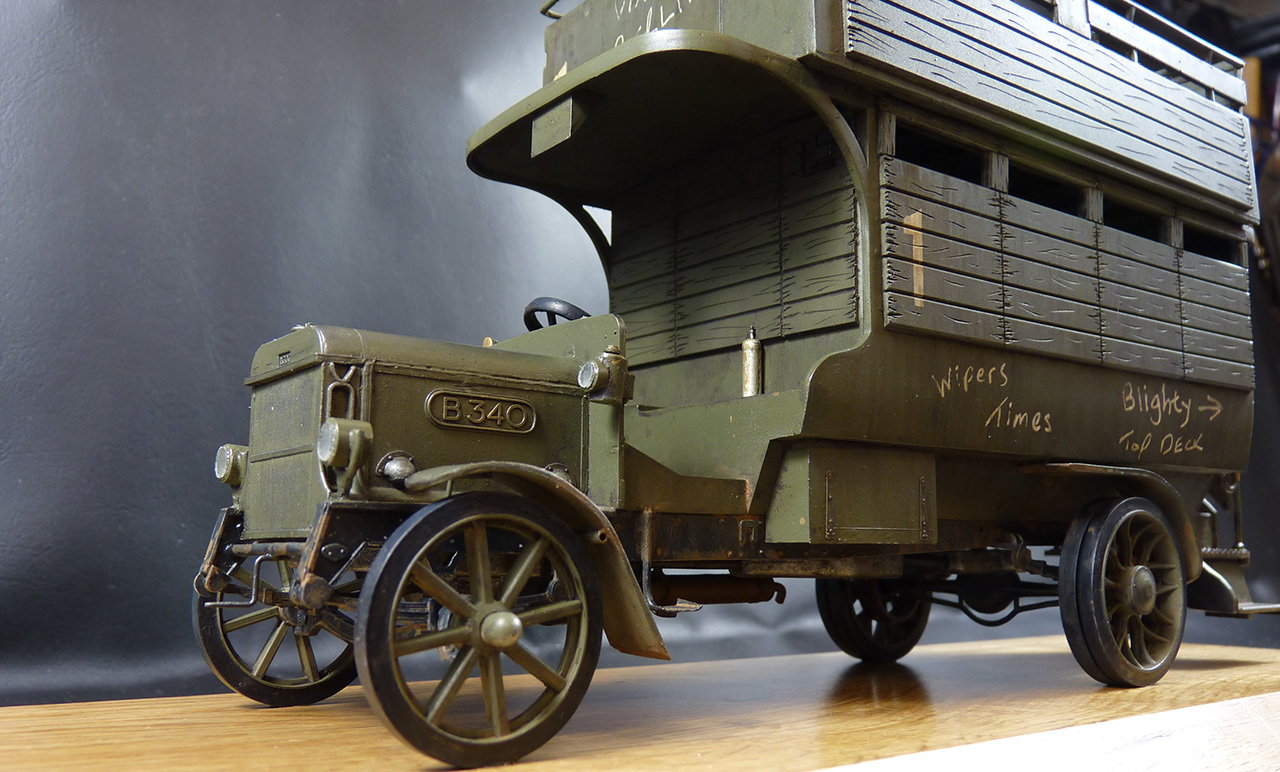 Airfix WWI B Type Bus Ole Bill 1:32