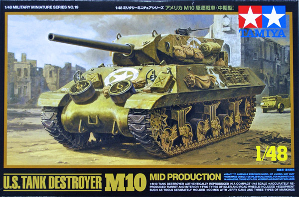 Tamiya M10 Tank Destroyer 1:48