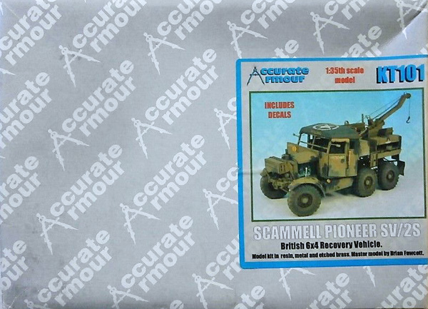 Accurate Armour Scammell Pioneer SV/ZS 1:35
