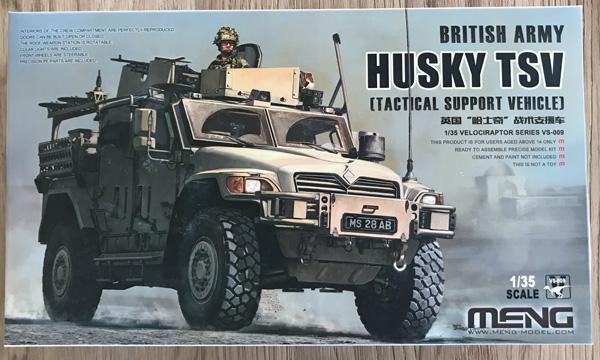 Meng British Army Husky TSV 1:35